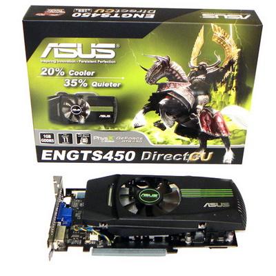 Сведения о GeForce GTS 450 от ASUS