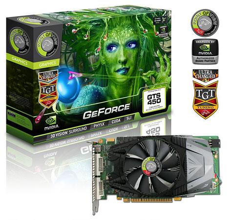 Видеокарта GeForce GTS 450 Ultra Charged